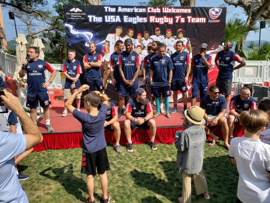 The American Club Hong Kong is making a difference for TEAM USA
