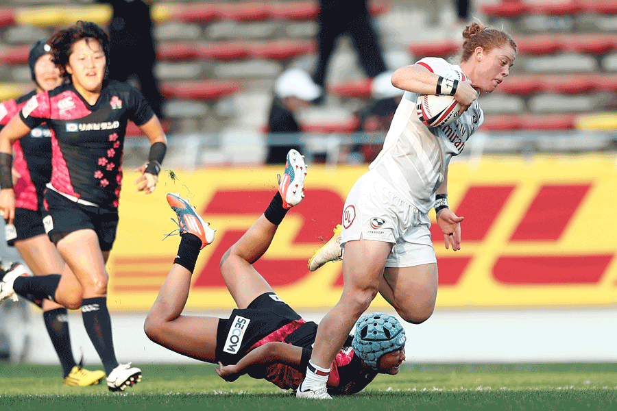 Alev Kelter to miss Rugby World Cup Sevens 2018