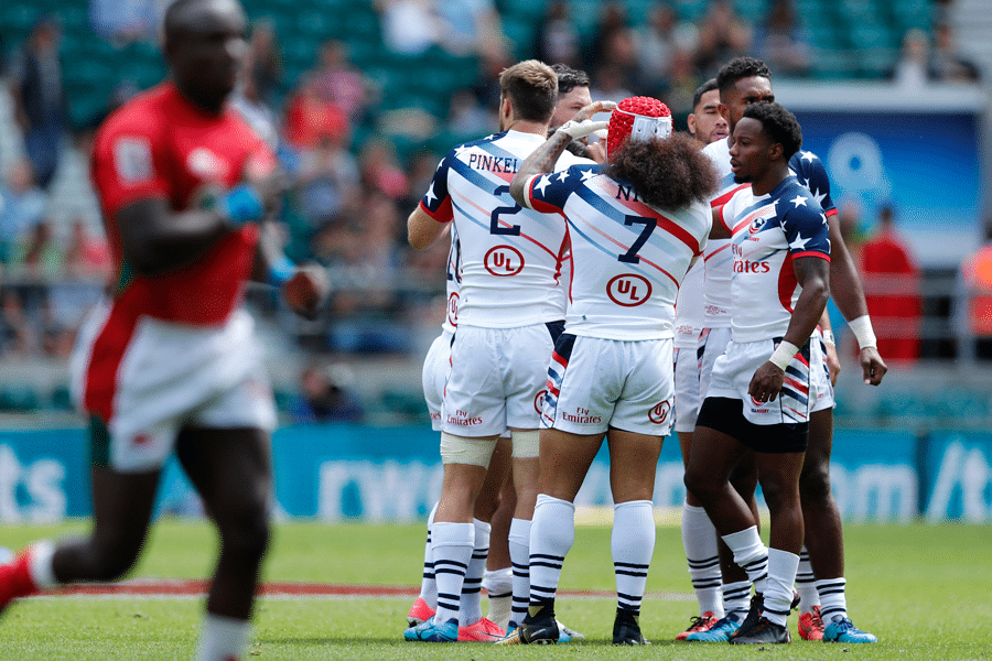 USA Men's Squad Named for Rugby World Cup Sevens 2018