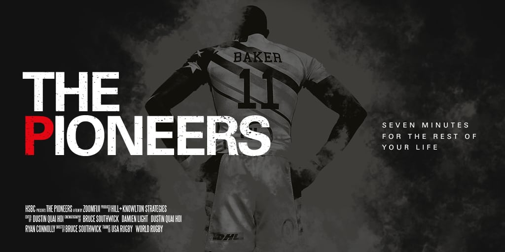 """HSBC Releases """"The Pioneers"""" Featuring USA Men's Sevens"""