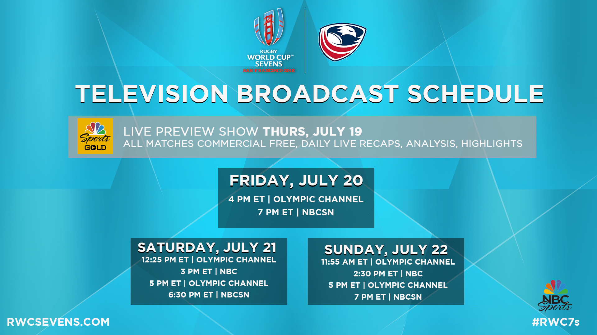 nbc to present comprehensive coverage of 2018 rugby world cup sevens