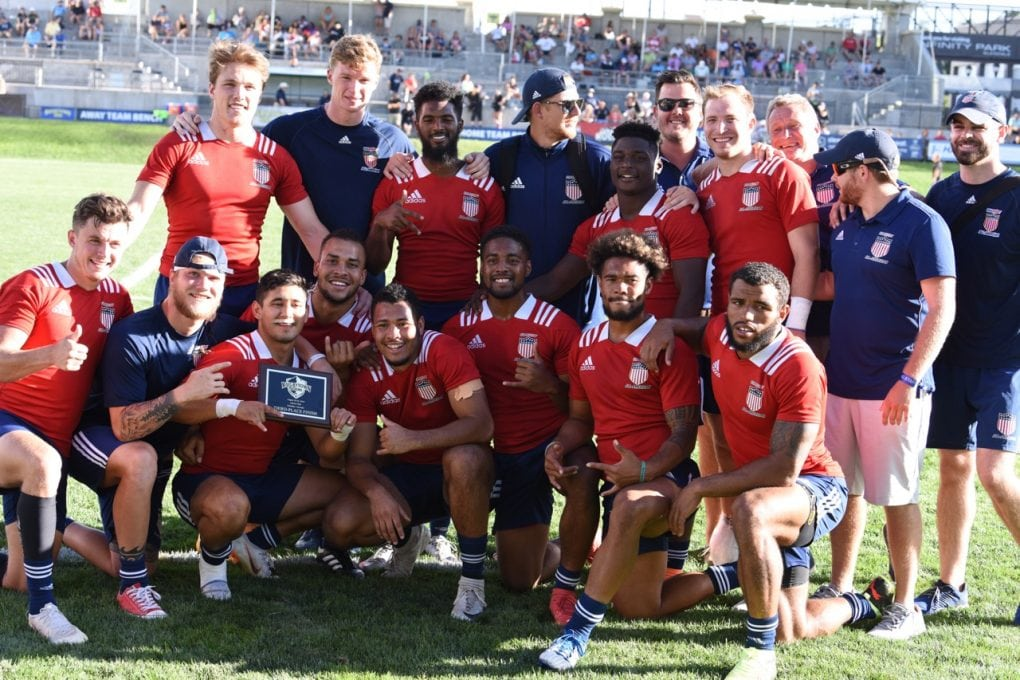 Men's Falcons and MCAA 7s wrap up 2018 RugbyTown 7s