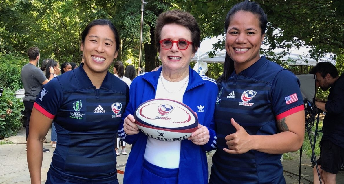 USA Women's Eagles Jennifer Lui and Tiffany Faaee featured in newest adidas ad and drive for change in sport
