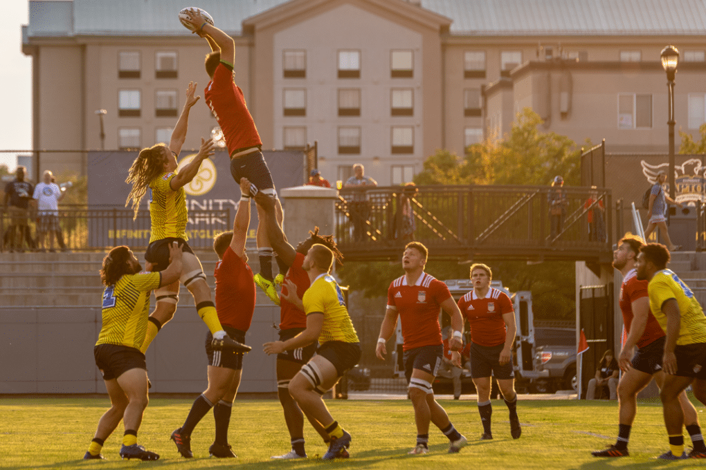 Men's Collegiate All-Americans Conclude Selection Camp with 55-10 Victory over Glendale Raptors