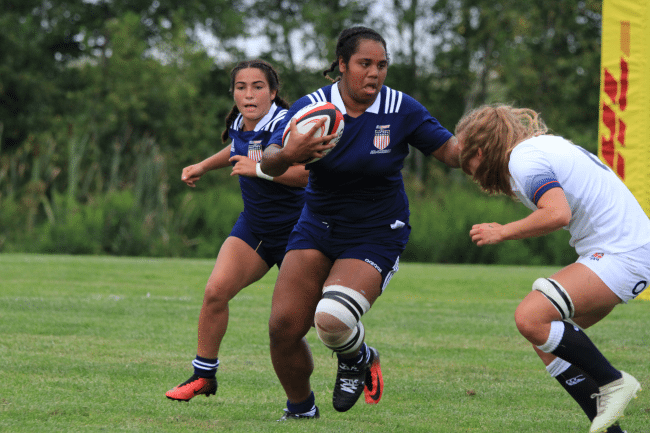 Women's Junior All-Americans Drop Second Match of Tri-Nations Cup to England U20s