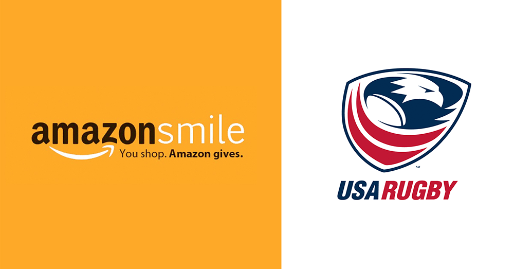 You Shop. Amazon Gives. USA Rugby Benefits.
