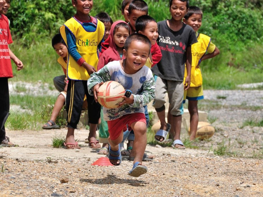 World Rugby and ChildFund launch transformational partnership for Rugby World Cup 2019
