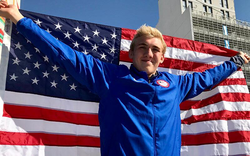 Alex Cleary selected as Opening Ceremony flag bearer for 2018 U.S. Youth Olympic Team
