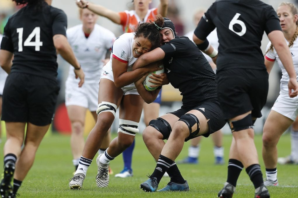 First Ever All-Female Crew to Broadcast USA Women's Eagles Test Match