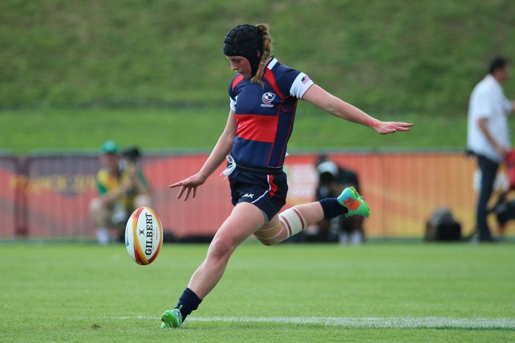 From High School Football Kicker to Eagle at The Rugby Weekend – Meya Bizer shares the journey.