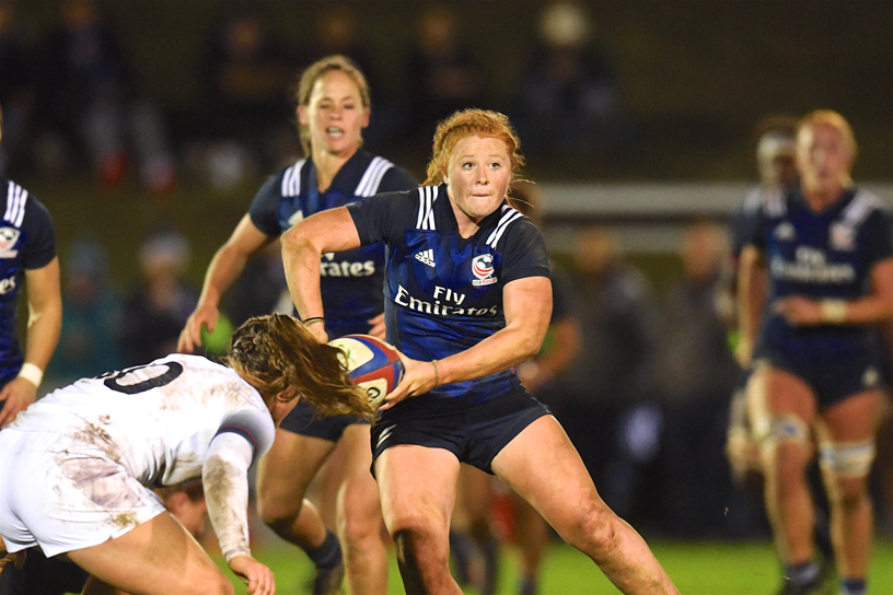 Women's Eagles named for final test match of Autumn Internationals against Ireland
