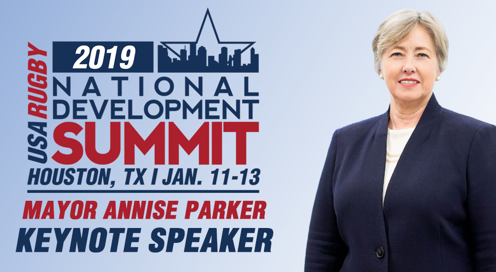 Former Houston Mayor and Rugger to Keynote NDS