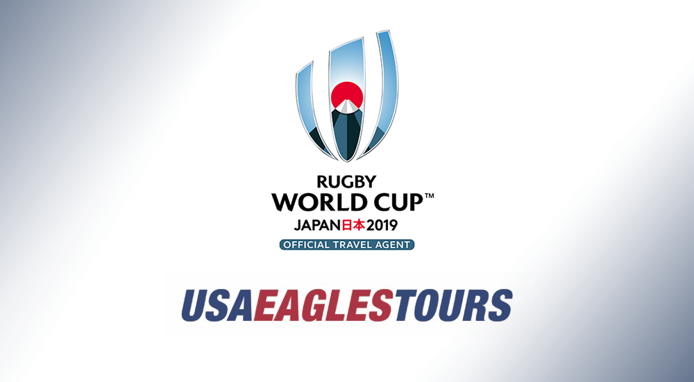 Rugby World Cup 2019 Tour Packages available with portion of proceeds benefiting the Men's Eagles