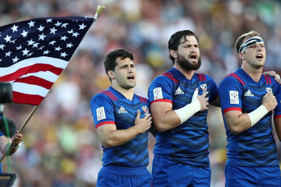 USA Men's Sevens finalists for Team of the Month in Team USA's Best of January Awards