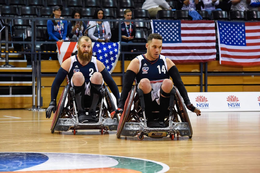 Warrior Games Add Wheelchair Rugby as a Medal Sport