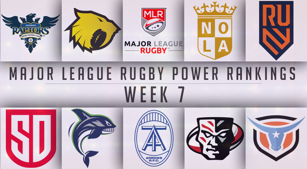 Week 7 Power Rankings: San Diego Stays On Top