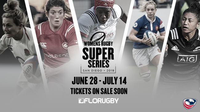 Usa Rugby To Host Women S Rugby Super Series 2019 In San Diego Usa