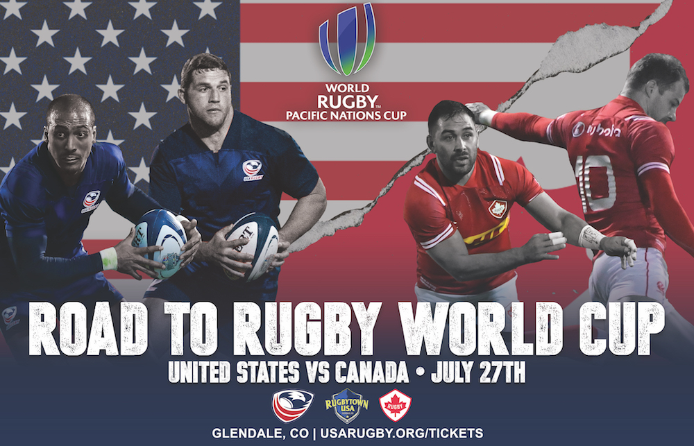 Tickets on sale for U.S. Men's National Team vs Canada in the World Rugby Pacific Nations Cup 2019