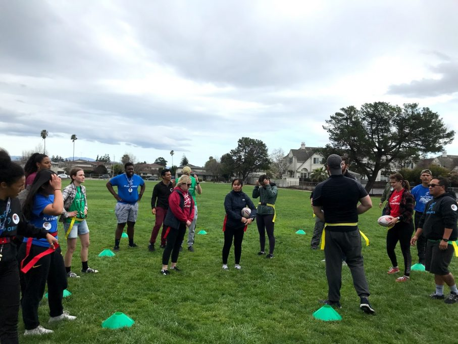 Newly Trained Coaches Inspiring Children To Play Rugby