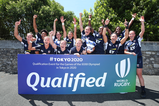 USA Women's Sevens qualify for Tokyo 2020 Olympic Games