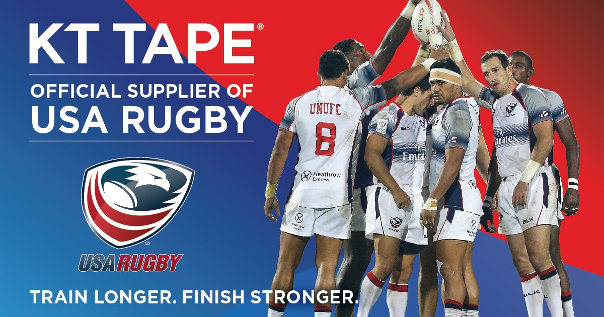 KT Tape Signs on as Exclusive Kinesiology Tape of USA Rugby