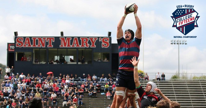 Saint Mary's College to host 15<span class='lowercase'>s</span> Championships this spring