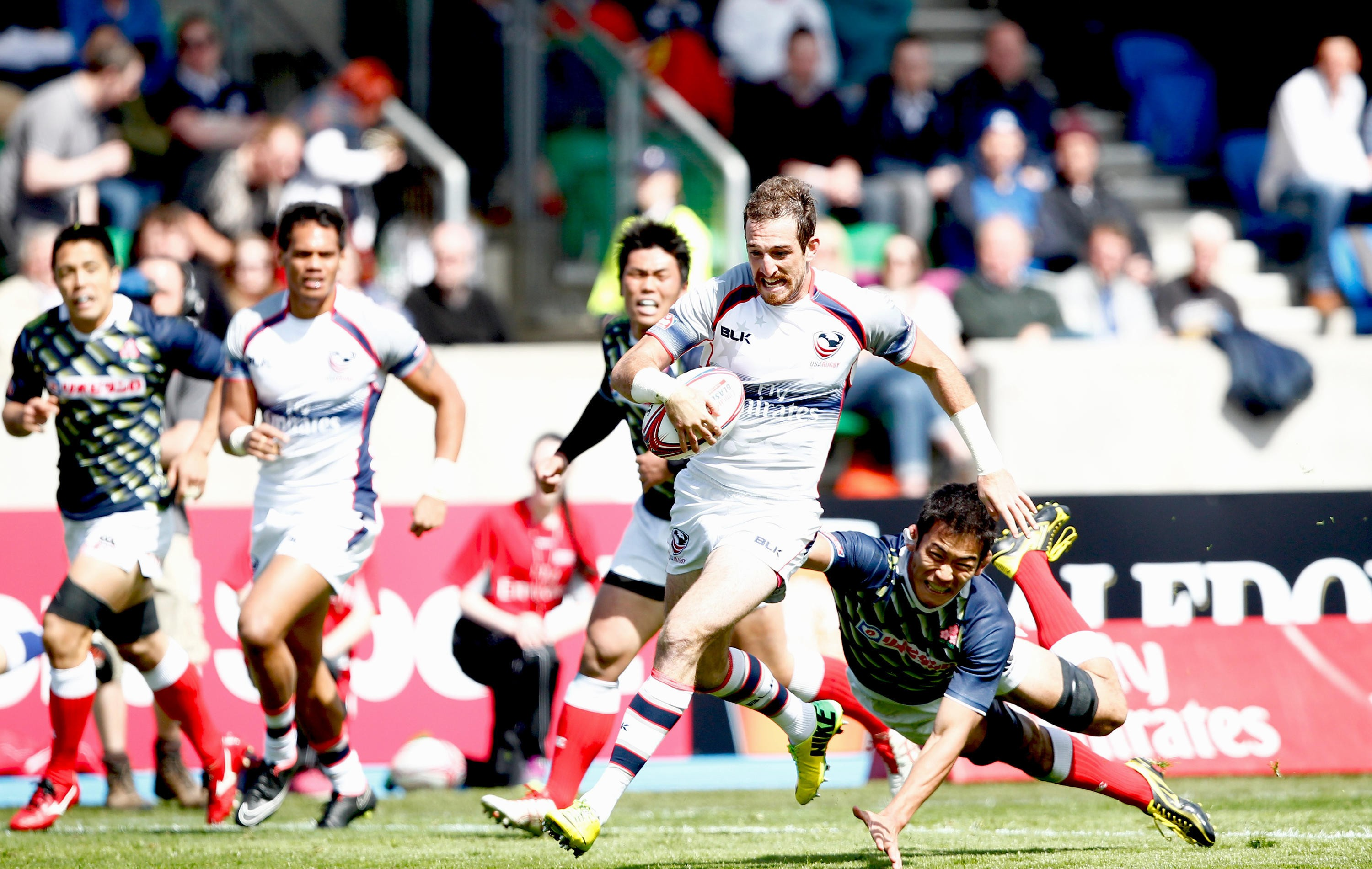Quick Reaction: USA through to quarterfinals after day one at Glasgow Sevens