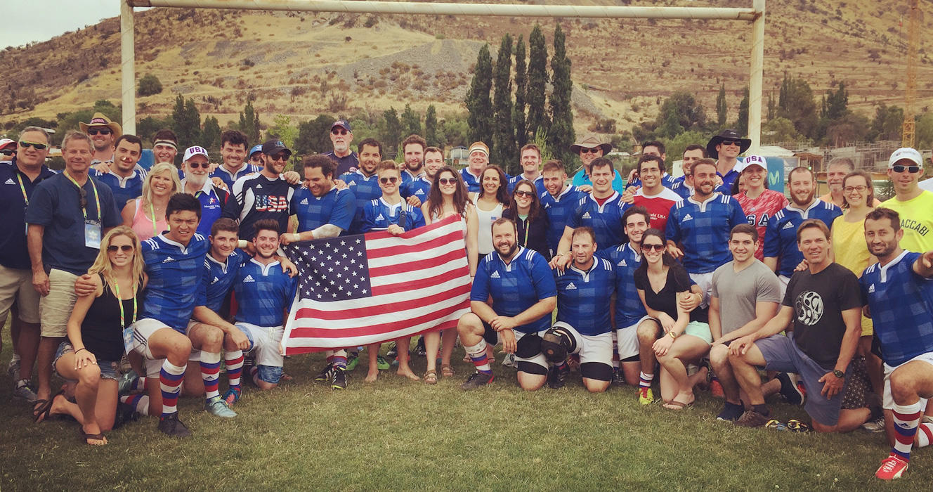 Maccabi USA's open men's rugby team wins gold at Pan American Maccabi Games