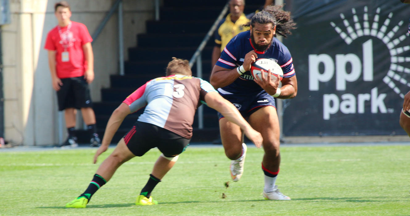 'Quins take match at PPL Park with Wallace brace
