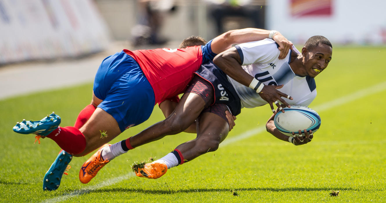 Men's Eagles Sevens roll through Toronto 2015 pool