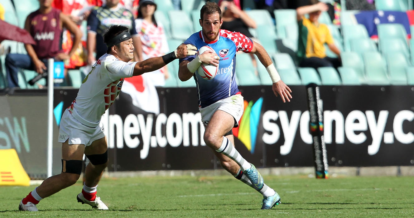 Japan falls to Cup-bound Eagles at HSBC Sydney Sevens