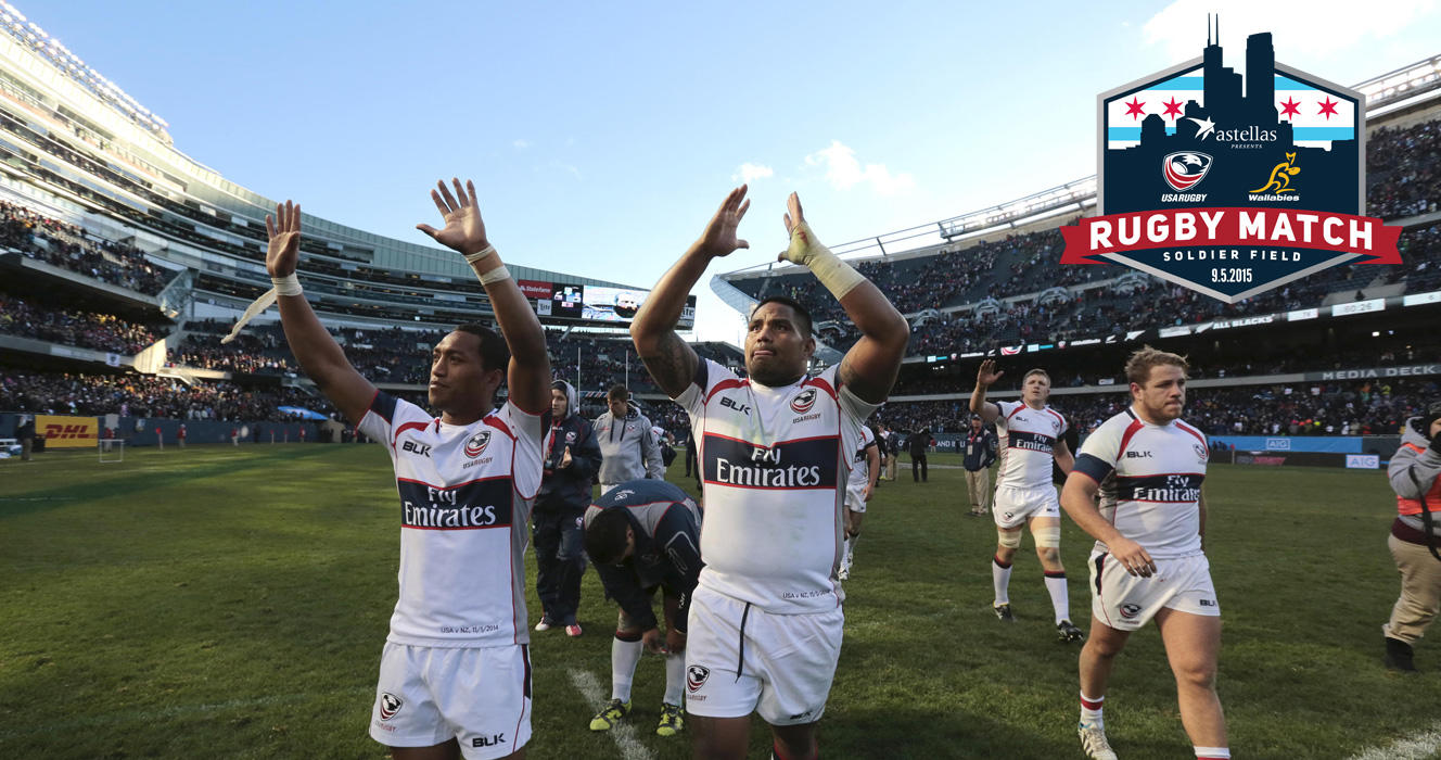 USA Rugby to play Australia Wallabies at Chicago's Soldier Field in Rugby World Cup primer presented by Astellas