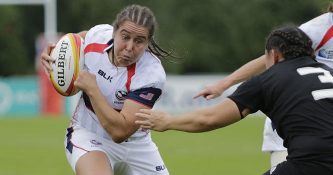 Chobot to lead Eagles against England in Women's Rugby Super Series