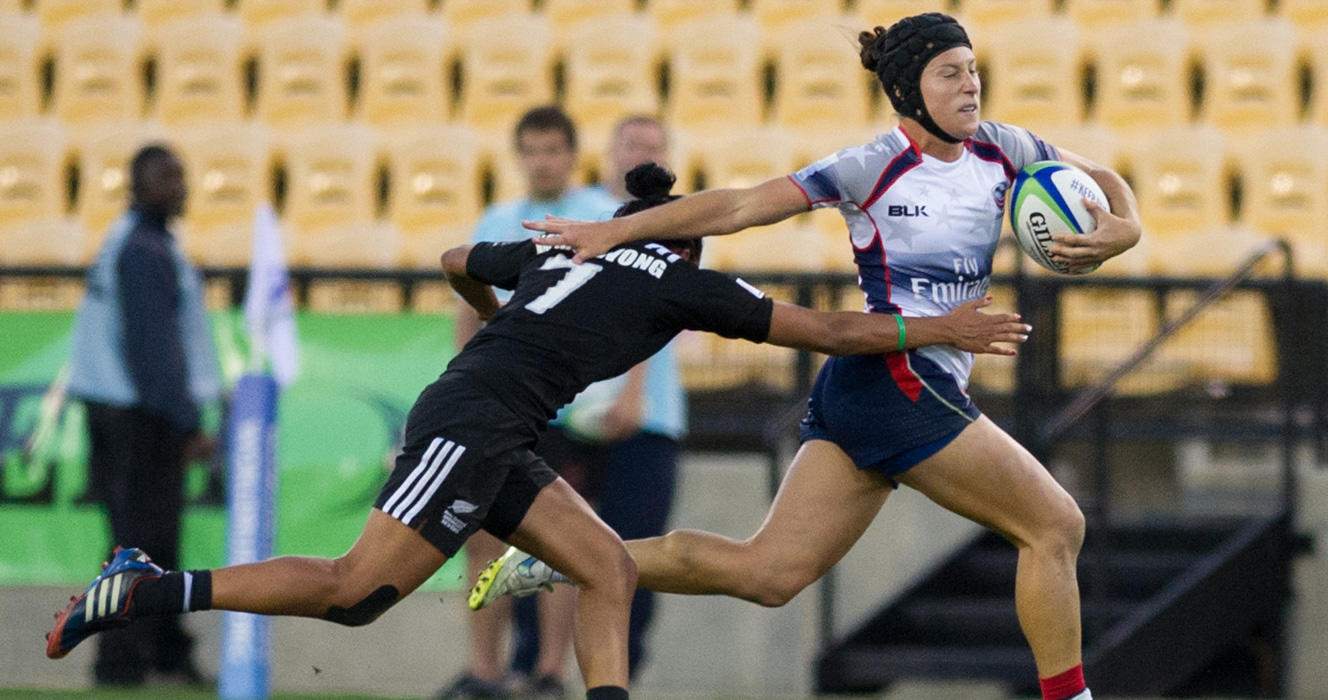 Women's Eagles Sevens beat New Zealand, top Pool A in Amsterdam