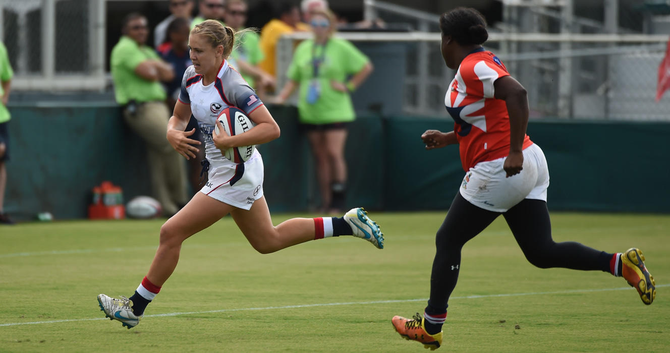 Women's Eagles Sevens keep third clean sheet, finish pool play undefeated