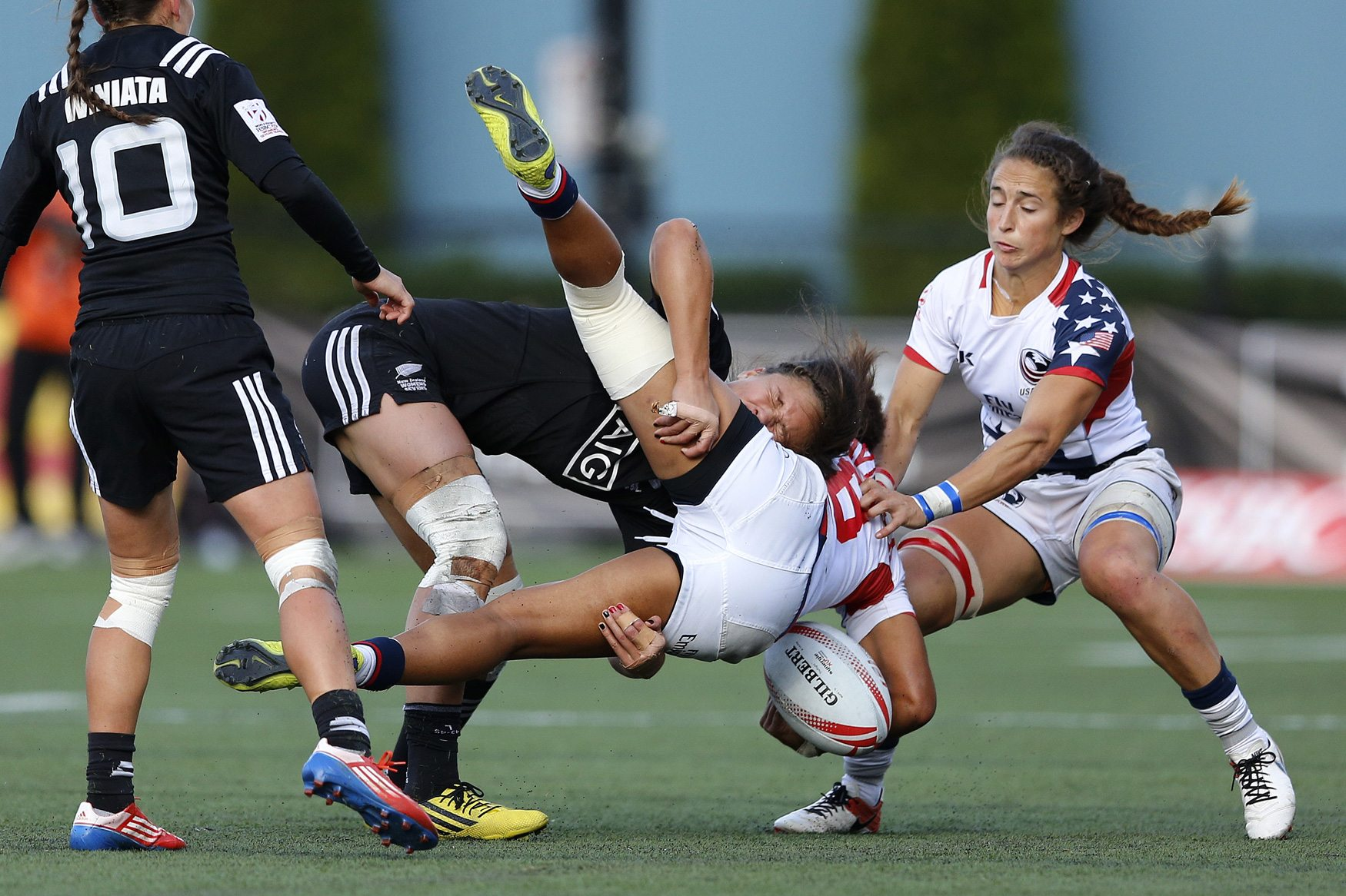 Eagles Upended By New Zealand Qualify For Canada Women S